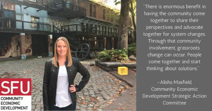 """""""There is enormous benefit in having the community come together to share their perspectives and advocate together for system changes. Through that community involvement grassroots change can occur. People come together and start thinking about solutions."""""""