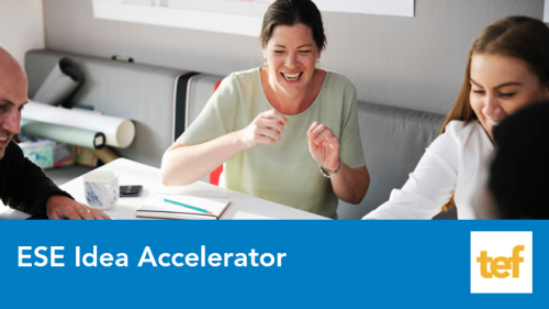 ESE Idea Accelerator program