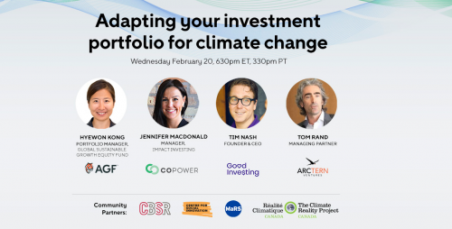 Adapting your investment portfolio for climate change