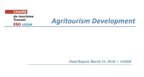 Agritourism Development