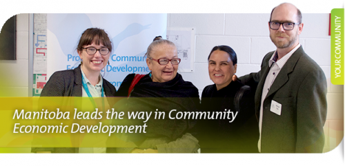 Manitoba leads the way in Community Economic Development