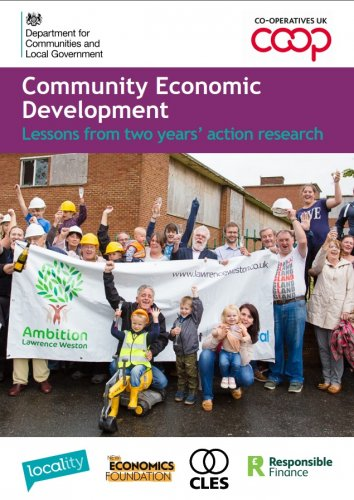Community Economic Development - Lessons from two years' action research