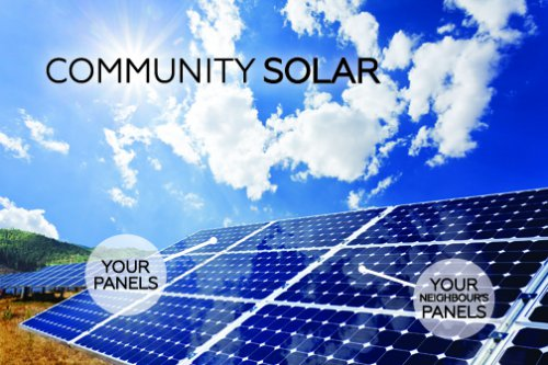 Community Sola, your panels, your neighbours panels