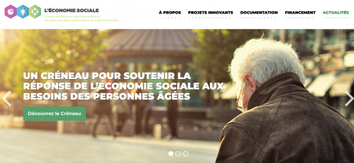 Screenshot of Créneau PAAPA website