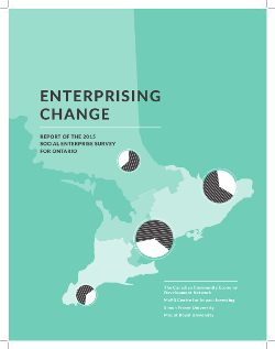 Enterprising Change 2015 SE report cover