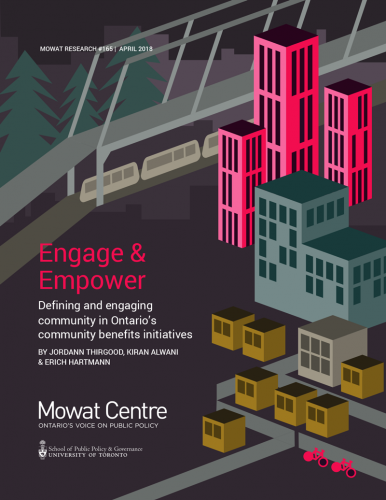 Engage and Empower: Defining and engaging community in Ontario's community benefits initiatives
