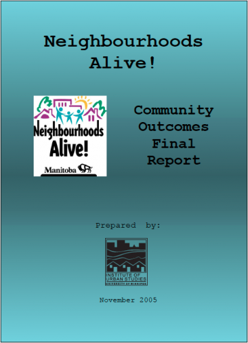 Neighbourhoods Alive!: Community Outcomes Final Report