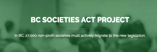 BC Societies Act Project