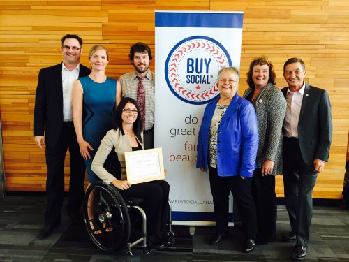 UBCM 2015 - Cumberland, B.C. is Canada's First, Buy Social Certified Municipality