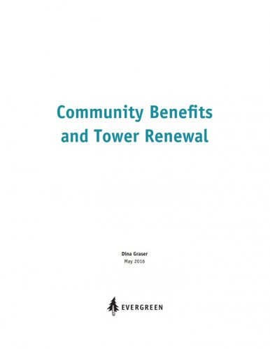 Community Benefits and Tower Renewal