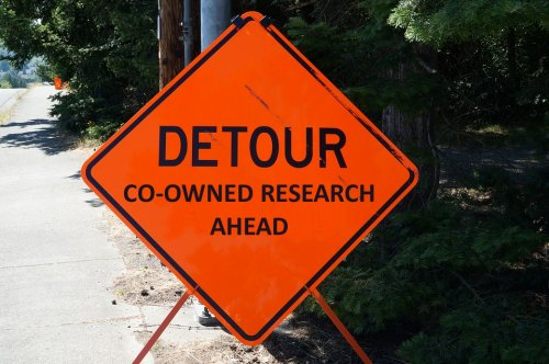 Detour - co-owned research ahead