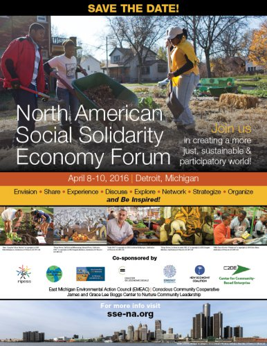 NORTH AMERICAN SOCIAL SOLIDARITY ECONOMY FORUM