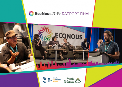 Rapport final d'EcoNous2018 : page de couverture