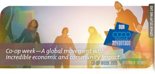 Co-op week-A global movement with incredible economic and community impact