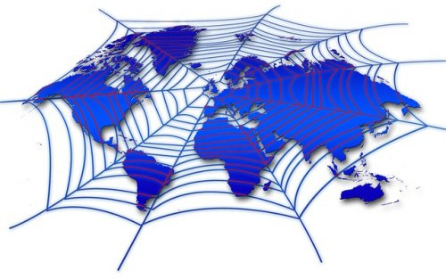 Web covering the world
