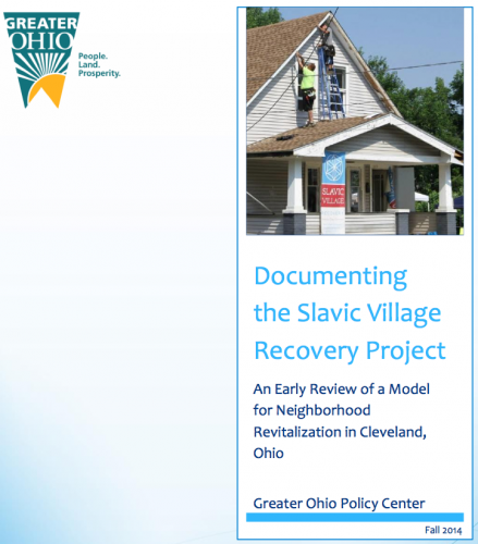 documenting the slavic village recovery project an early review of