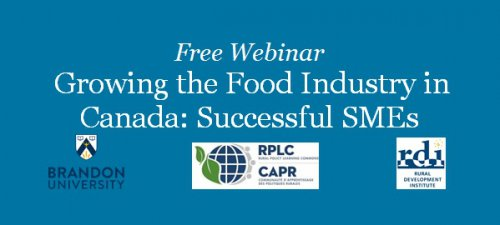 Growing the Food Industry in Canada: Successful SMEs