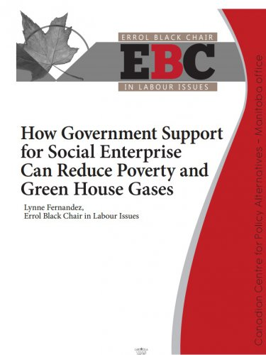 How Government Support for Social Enterprise can Reduce Poverty and Green House Gases
