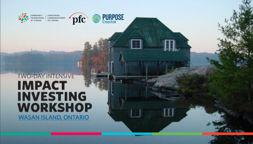 Two-Day Intensive Impact Investing Workshop, Wasan Island, ON