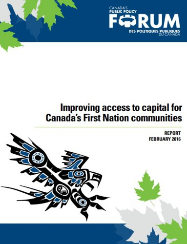 Improving access to capital for Canada's First Nation communities