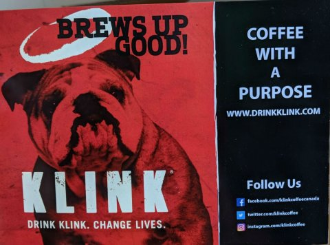 Brews up Good! Coffee with a Purpose (Klink promo)