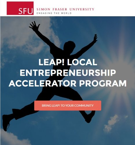 Bring LEAP! (Local Entrepreneurship Accelerator Program) to your community
