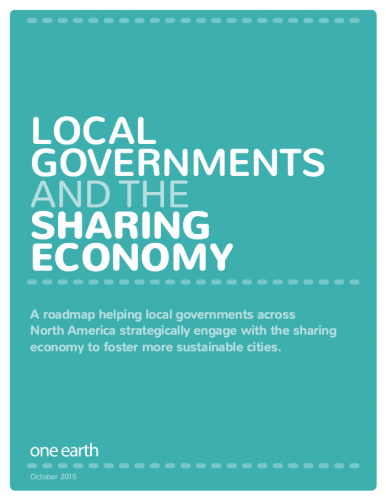 Local Governments and the Sharing Economy
