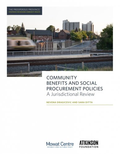 Community Benefits and Social Procurement Policies: A Jurisdictional Review