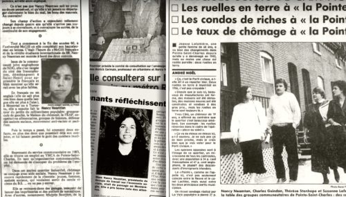 Nancy Neamtan newspaper articles