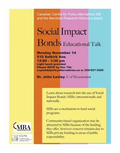 Social Impact Bonds Educational Talk