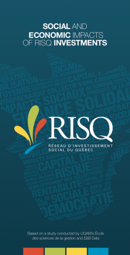 Social and economic impacts of RISQ investments