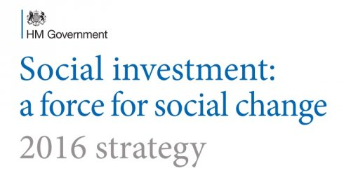 Social investment: a force for social change - UK Strategy 2016