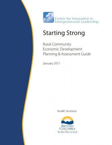 Starting Strong: Rural Community Economic Development Planning and Assessment Guide