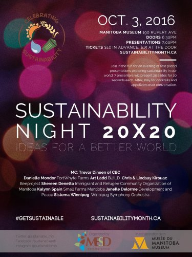 Sustainability Night 20X20