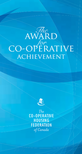 The Award for Co-operative Achievement