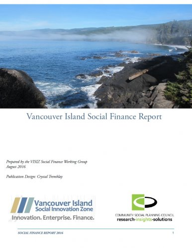 Vancouver Island Social Finance Report