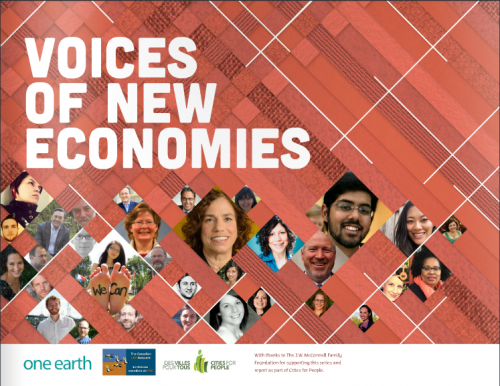 Voices of New Economies: Opportunities for All