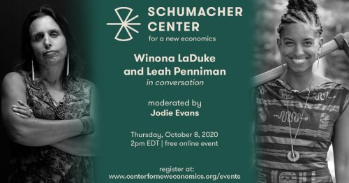 Winona LaDuke and Leah Penniman in Conversation