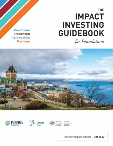 New Impact Investing Guidebook for Community Foundations