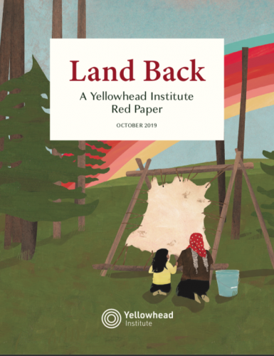 Cover image of Land Back Red Paper