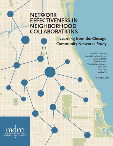 Network Effectiveness in Neighborhood Collaborations: Learning from the Chicago Community Networks Study