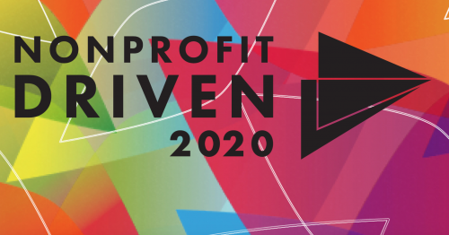 Banner image with Nonprofit Driven 2020 logo