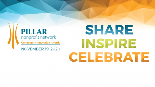 Banner image that says Share, Inspire, Celebrate
