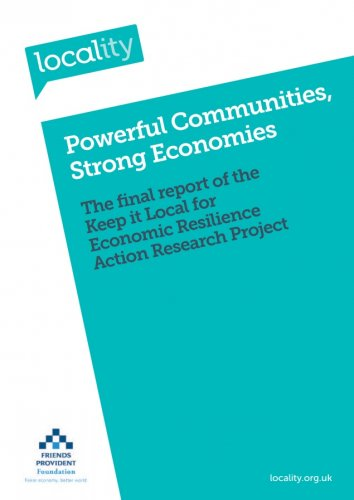 Powerful Communities, Strong Economies