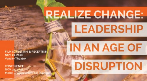Realize Change: Leadership in an Age of Disruption