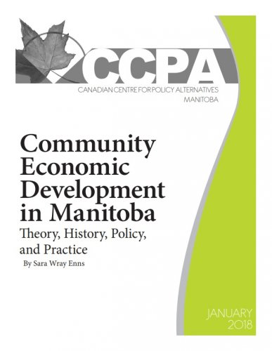 Report on the history of CED in Manitoba