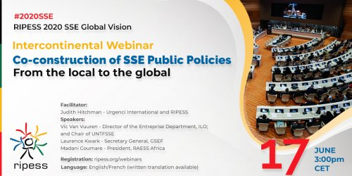 Image with information about the webinar