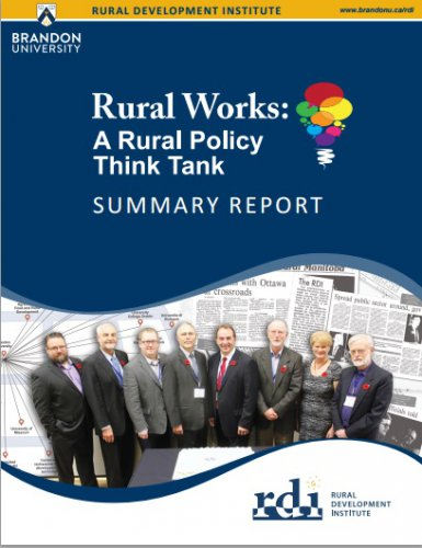 Rural Works! A Rural Policy Think Tank