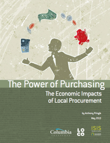 The Power of Purchasing: The Economic Impacts of Local Procurement