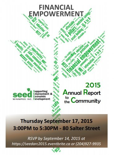 SEED Winnipeg's Annual Report to the Community